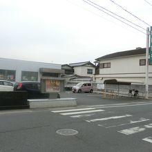 現在は「山口銀行 高森支店」の場所にあります。