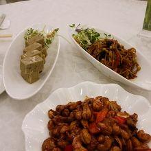 庶民的な料理が多く、どれも美味しかったです。