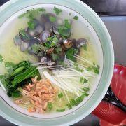 お食事は小河原湖産「しじみラーメン」お土産は三沢産「ニンニク」