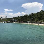 セントーサ島にあるビーチ