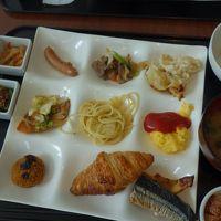 朝食ブッフェは北海道の料理が多く北海道らしさ満点です。