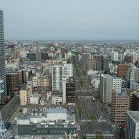 札幌駅方向の眺望が有る部屋が部屋も広くおすすめです。