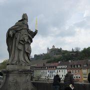 マリエンブルク要塞をバックにきれいな写真が撮れます