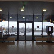 小さくてお洒落なタリン・ウレミステ空港