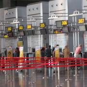 マラガ駅から簡単に行ける大きな国際空港です。