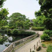 小さな綺麗な庭園