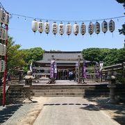 立花宗茂公を祭神とする神社です
