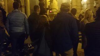 ローテンブルグ市庁舎前発 夜警ツアー