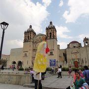 教会前の広場