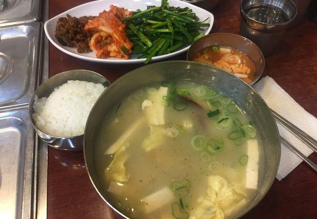 鱈のスープ