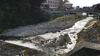横湯川渓谷