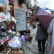 雨と傘で買い物どころではありませんでした