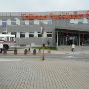 新しくスタイリッシュなバスターミナル