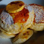 ふわっふわのリコッタパンケーキととろとろのスクランブルエッグで有名な世界一の朝食をビルズで。