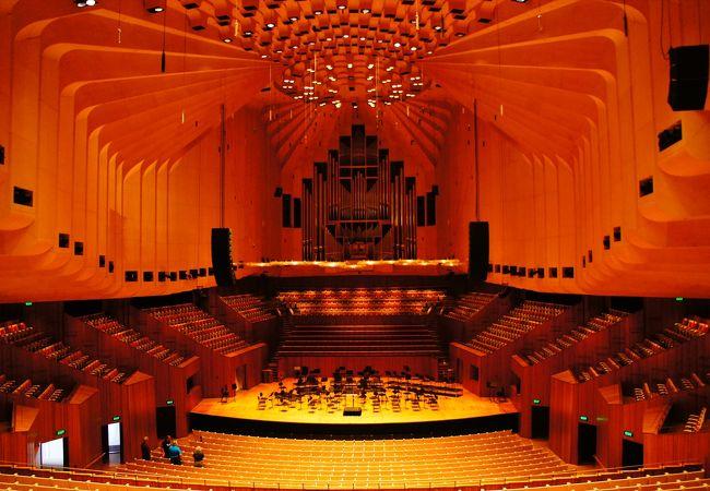 有名なコンサートホールでも写真が撮れます