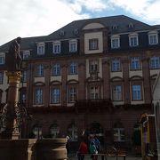 旧市庁舎前の広場