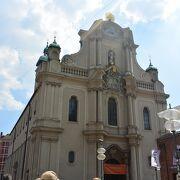 バロック様式の教会
