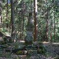 写真:尼子晴久の墓