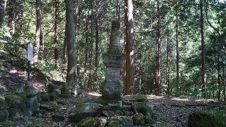 尼子晴久の墓