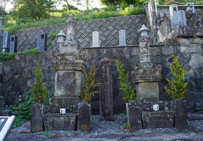 尼子経久の墓