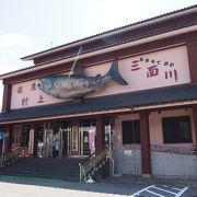 珍しい!鮭の博物館!