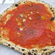 ナポリの老舗ピザ屋