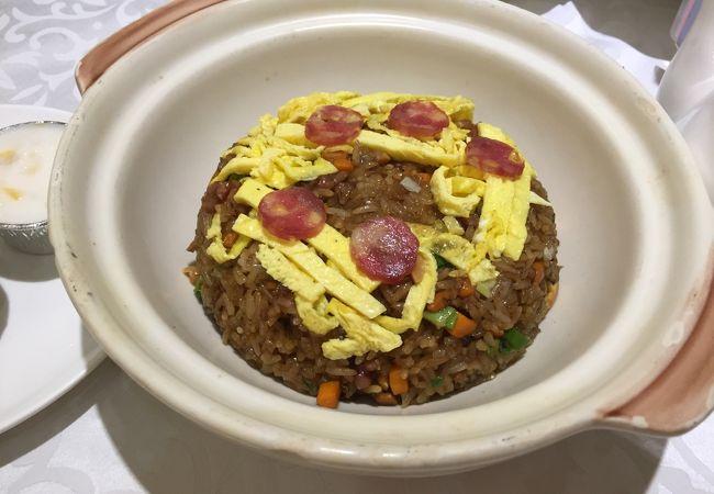 生炒糯米飯:48元。これお勧め!