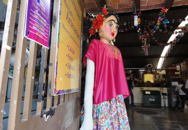 オアハカ 民芸品市場