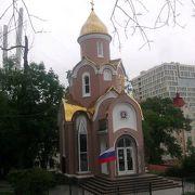 思ったよりもこじんまりとした、可愛らしい風情の教会でした