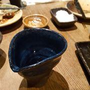魚と日本酒もおいしい、らしい