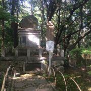 大きな石碑