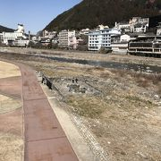 飛騨川:噴泉池
