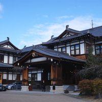 本館エントランスが印象的な奈良ホテル