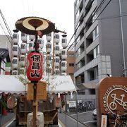祇園囃子が心に沁みます