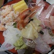 海鮮丼メニューが豊富で選ぶ楽しみが