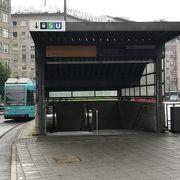 中央駅からレーマー広場までの移動に便利