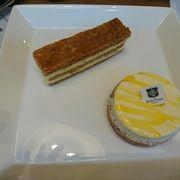 ケーキがきれいで美味しかった!