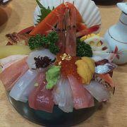 豪華な海鮮丼!