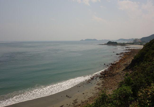 海も砂もとてもきれいでした