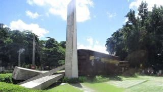 キューバ革命勝利のきっかけとなった装甲車襲撃の現場です。