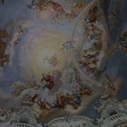 天井画が素晴らしい