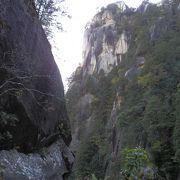 昇仙峡の中でも圧倒的存在感、「覚円峰」