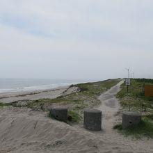 大浜海岸西側