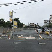 鵠沼海岸の隠れた穴場の駐車場