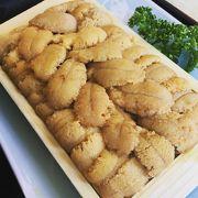 青塚食堂のウニ丼