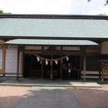 白羽神社拝殿