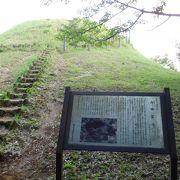 小高い富士山のある公園