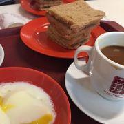 シンガポールの朝の定番!