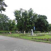 噴水が多い公園