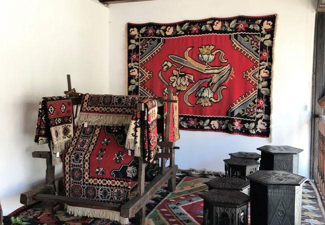 オスマン帝国時代の生活様式が見られる